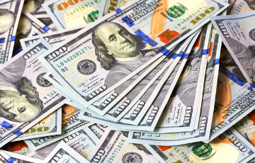 С начала года доллар вырос на 6,2%