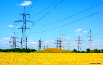 Украіна зарабіла на экспарце электраэнэргіі $210 мільёнаў