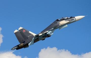 В Казахстане потерпел крушение истребитель Су-30СМ