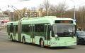 У Віцебску проста на хаду ў тралейбуса адвалілася двухсхільнае кола.