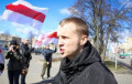 Zmitser Dashkevich: We Hung Out Flags To Cheer Up Belarusians