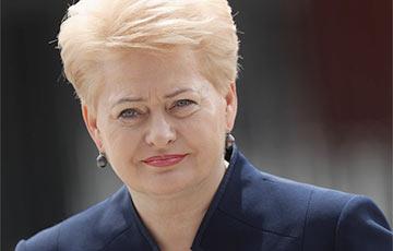Грыбаўскайтэ: Літва ўвяла нацыянальныя санкцыі супраць Расеі