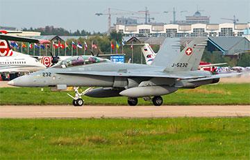 В Альпах пропал самолет ВВС Швейцарии