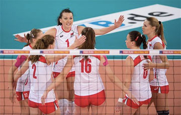 Евролига: Белорусские волейболистки победили команду Финляндии