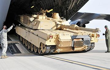 Колькасць танкаў NATO ў Латвіі падвоілася