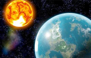 Навукоўцы распавялі, што магло паўплываць на з'яўленне Сонца