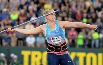 Белоруска Татьяна Холодович выиграла метание копья в первой лиге командного ЧЕ