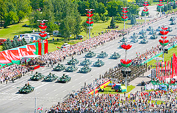 Неизвестные начали сбор подписей за отмену военных парадов в Беларуси