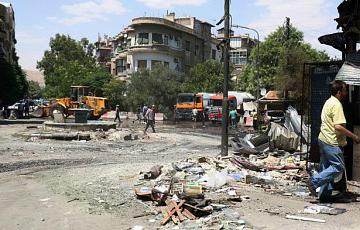 В Дамаске обстреляли посольство России в Сирии