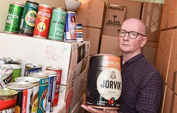 Британец 42 года собирал пивные банки