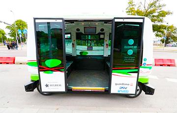 В Таллине запустили рейсовые беспилотные автобусы