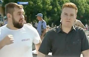 Ударивший журналиста НТВ в День десантника:  Я ему просто руку кинул, и все