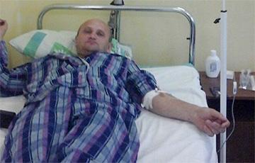 Белорусского журналиста оштрафовали прямо в больнице