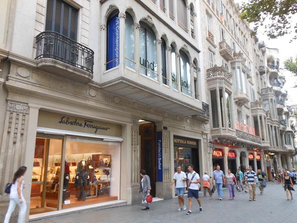 Мадрид барселона аликанте шоппинг