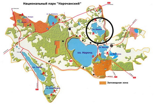 Проложение маршрута по карте беларуси