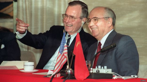 Буш и Горбачёв