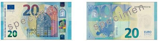 Евро Банкноты Нового Образца - фото 7