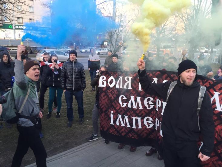 В Минске уже скачут