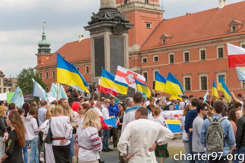 Украинцы провели дефиле вышиванок возле Эйфелевой башни - Цензор.НЕТ 4883