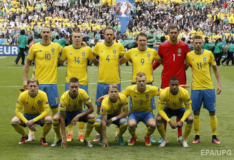 Футболисты Ирландии и Швеции сыграли вничью — 1:1