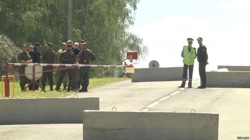 Военные учения в Берестовице напугали местных жителей