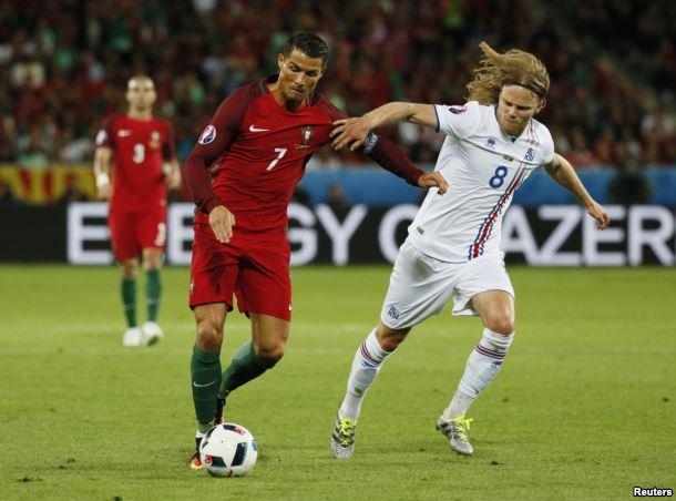 Сборная Франции забила 5 мячей вчетвертьфинале Евро