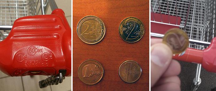 В гипермаркете Вильнюса минчанин вместо евро использовал белорусские монеты