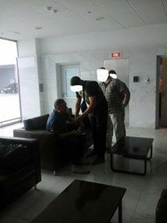 Фотофакт: в сеть выложили фото задержания регионала Ефремова