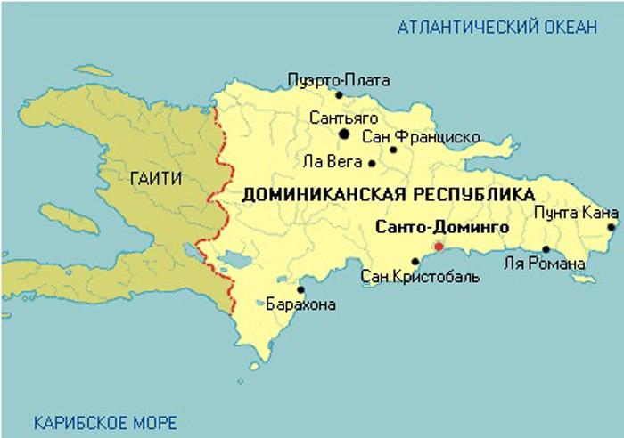 доминикана где находится на карте мира фото свежий, гармоничный