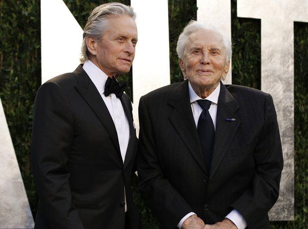 Голливудский артист Кирк Дуглас празднует свое 100-летие