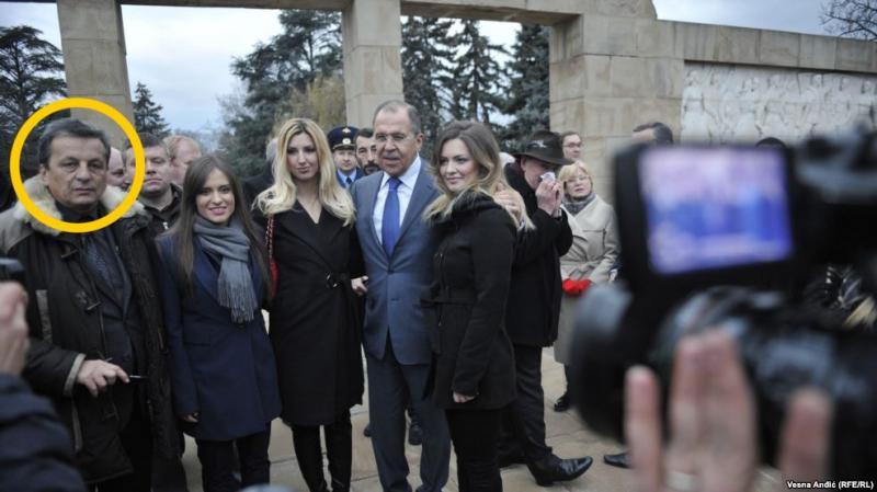 Журналисты обнаружили одного из организаторов переворота в Черногории на фото с Лавровым - Цензор.НЕТ 1105