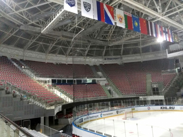 Состоялся матч между минским «Динамо» и«Адмиралом»