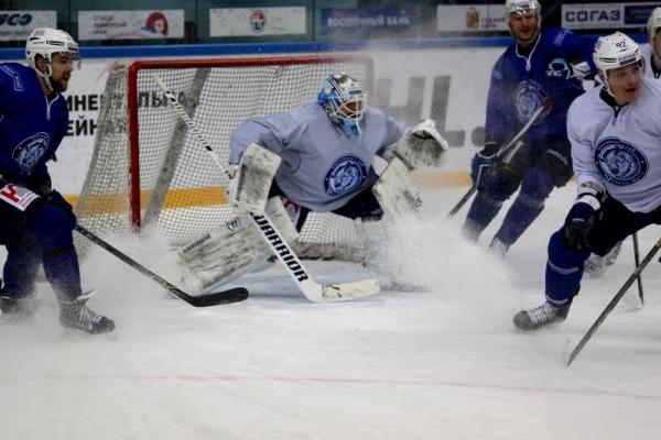 Минское «Динамо» выиграло у«Адмирала» вматче чемпионата КХЛ