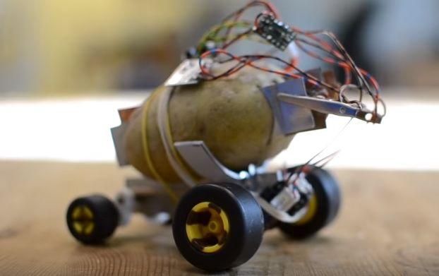 Польский изобретатель создал картошку-беспилотник